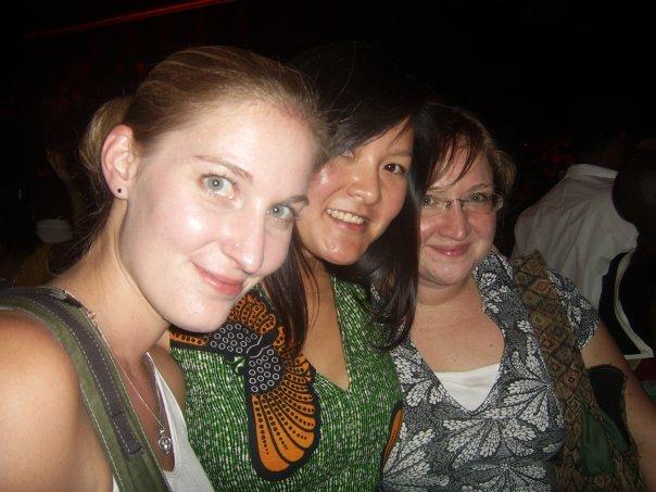 With Jen Cohen, Nastasya Tay and Amy Bartlett.