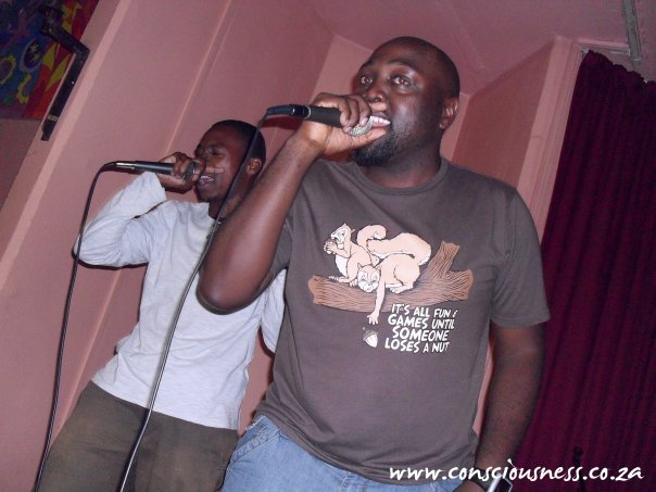 One-2 — with Funkie Fredie Gee and Masilo-Naked EYe Moroenyane.
