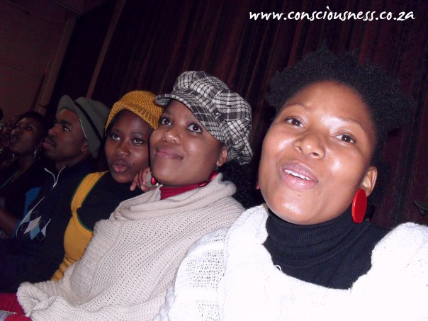 With Boledi Matsimela and Obakeng Koketso Modubu.