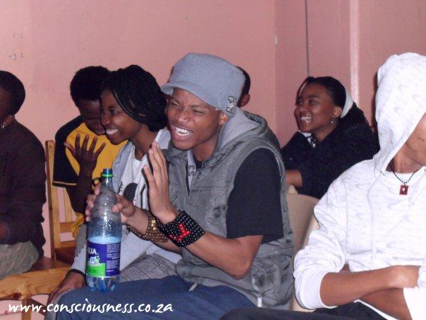 With Matthew Mokoena.