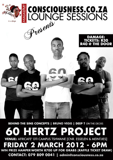 Consciousness.co.za Lounge Session II - 60 Hertz Project