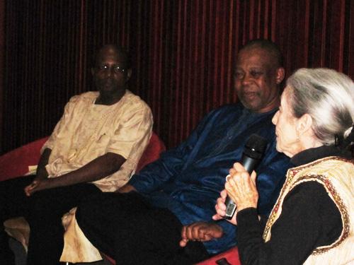 Prof. Mbulelo Mzamane, Dr. Nadine Gordimer and Prof. Nhlanhla Maake