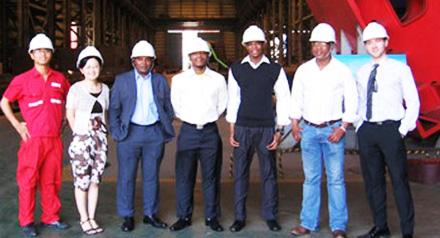 Paseka Lesolang and team WHC