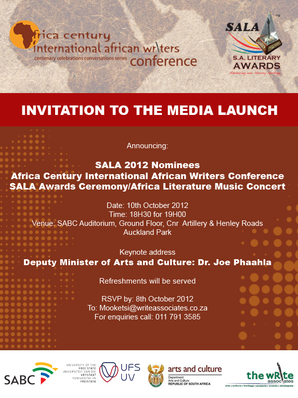 The SALA 2012 Awards