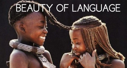 The beauty about an economical languages - Khomotso Ntuli