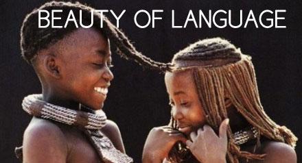 The beauty about an economical languages - Khomotso Ntuli