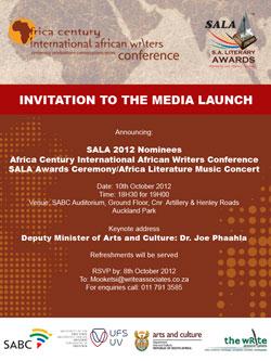 SALA 2012 - MEDIA LAUNCH