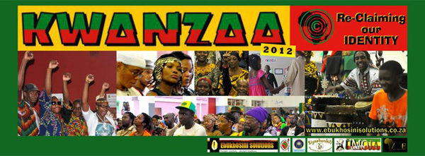 Kwanzaa Celebration 2012 - Re Claiming Our Identity