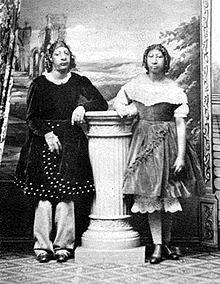 Maximo and Bartola, c. 1867