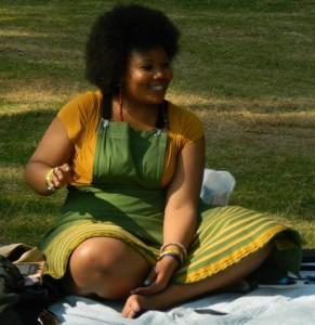 Vangile Gantsho - Poet from South Africa, based in Pretoria