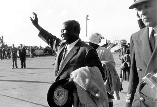 Chief Albert Luthuli 1960 Photo by: Dr Peter Magubane