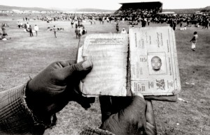Demonstrations against the pass laws, Soweto Late 1950s Photo by: Dr Peter Magubane