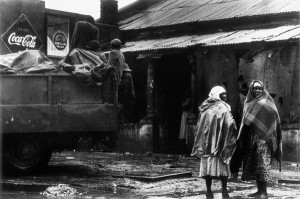 Forced Removals: Sophiatown to Meadowlands, Soweto (I) Mid to late 1950s Photo by: Dr Peter Magubane