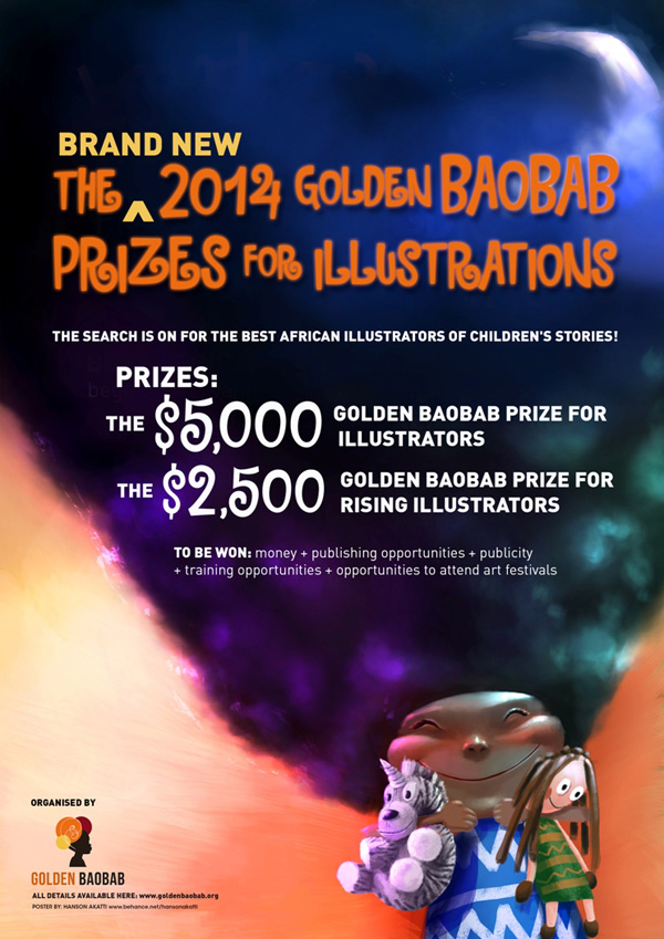 Information on how to enter, rules and regulations, etc are also up on our website (www.goldenbaobab.org)