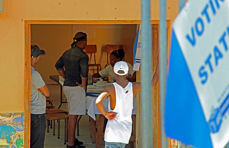 Born-free generation registering to vote for the first time in the 2014 general election