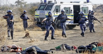 Shootings by SAPS