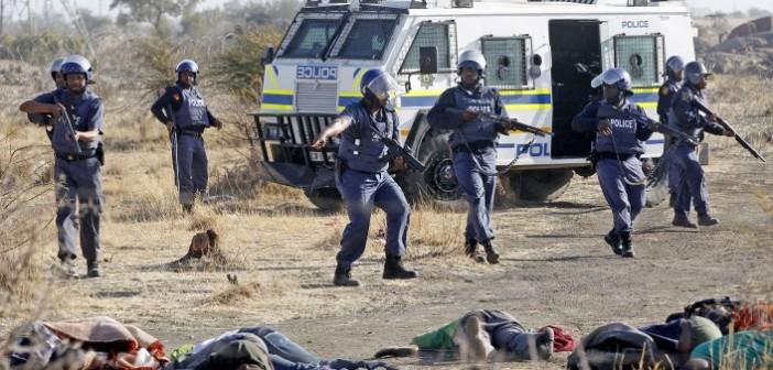 Shootings by SAPS