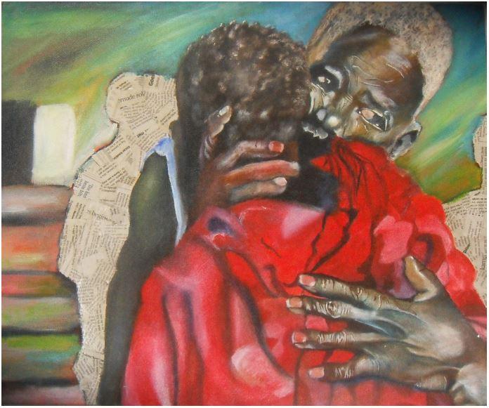 Crimes of the heart-2013-Oil paint on canvas-46 cm x 61 cm