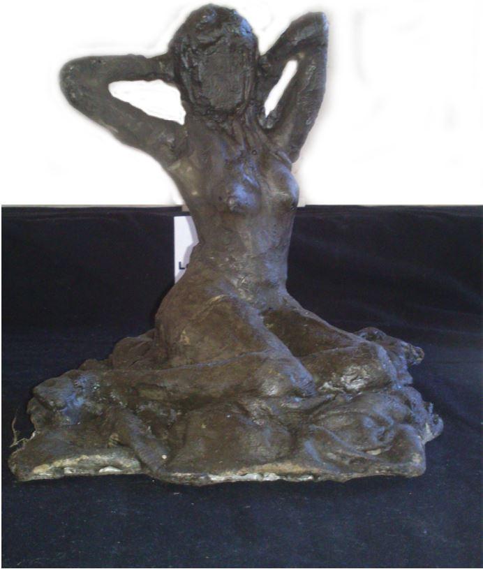 Unidentified-2014-Concrete sculpture-20 cm x 20 cm x 24