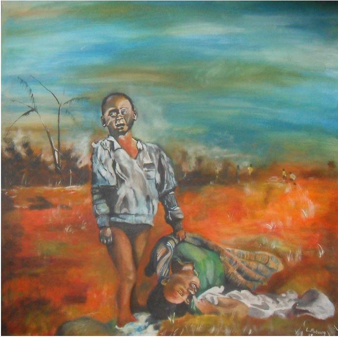 Untitled-2013-Oil paint on canvas-91 cm x 91 cm
