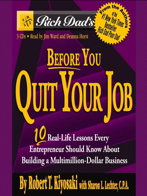 Before You Quit Your Job - Book Cover
