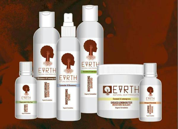 earth hair care range