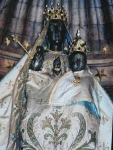 Our Lady of the Pillar. Gothic Cathedral. Chartes, France