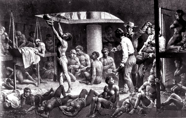 EnslavedAfricansinHoldofSlaveShip1827-600x379
