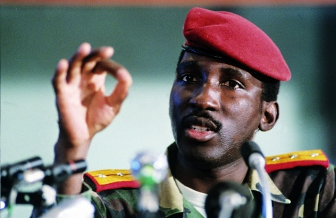 Thomas Sankara of Burkina Faso