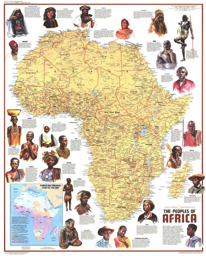 100 things about africans