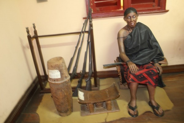 Queen Mother Yaa Asantewaa – Manhyia Palace Museum, Kumasi