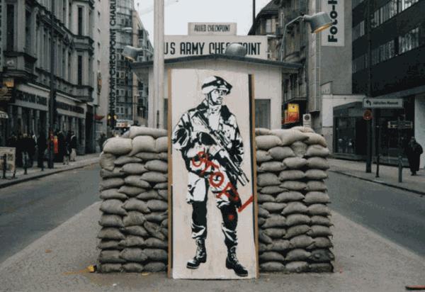 Blek le Rat, 1980's.