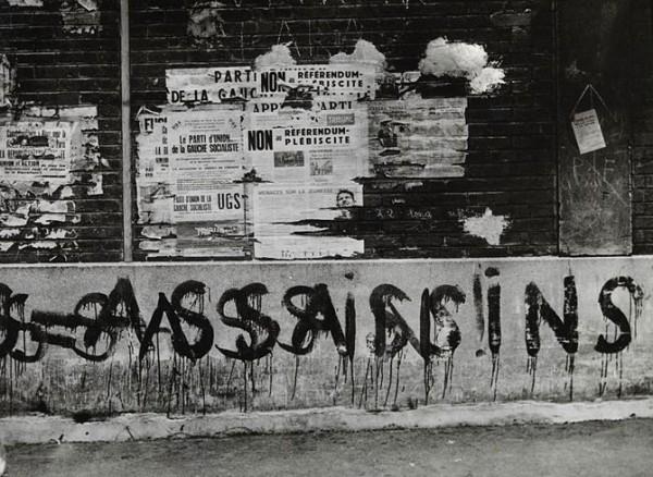 Photo: Brassaï. Paris in the beginning of 1960's.