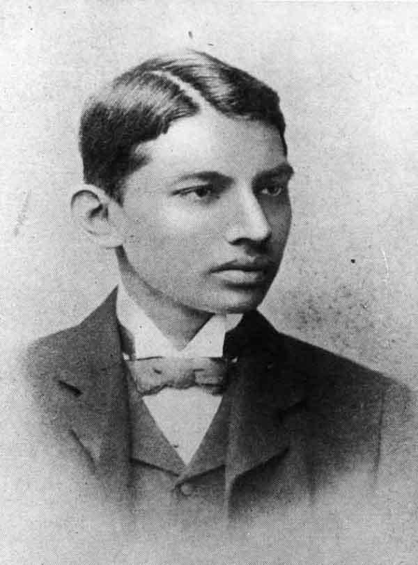 Ghandi at 19