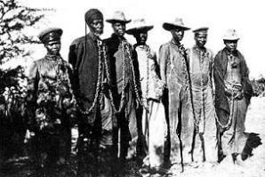 Herero - Chained - 1904