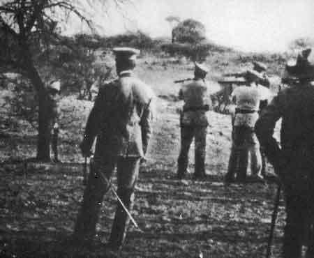 Herero-Execution