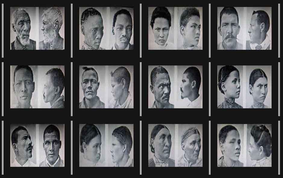 Victims of Eugen Fischer's 'African Studies'