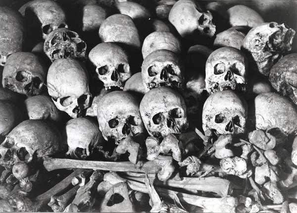 Gukurahundi-skulls